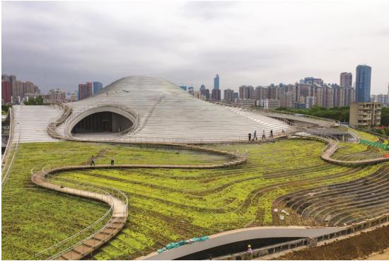 武汉琴台美术馆为彰显原生态之美用清水混凝土建设