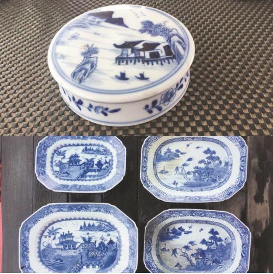 海洋考古学家在新加坡沉船发现大量中国青花瓷器