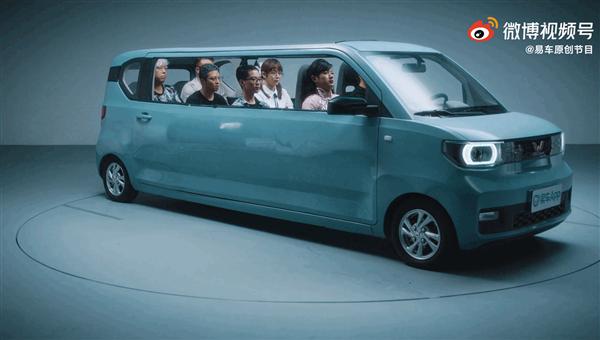 五菱工作人员辟谣超级加长版的五菱宏光MINI EV