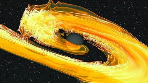 科学家首次发现两个黑洞吞噬中子星事件 无任何可见光