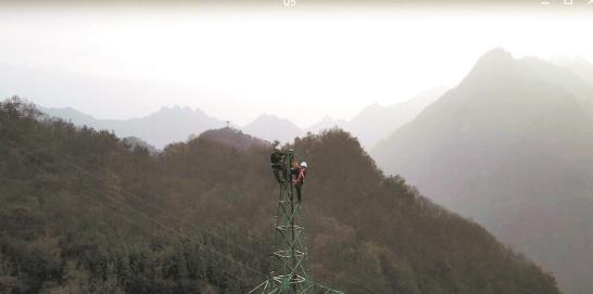 新电力铁塔让武当山上的绿色植被再也不用年年'剃头'了!