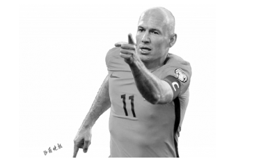 37岁的荷兰球星罗本宣布再次退役 去年夏天才宣布复出