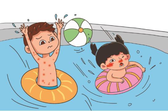 """夏季游泳降温要重视泳池水质卫生 警惕""""泡出来""""的病"""