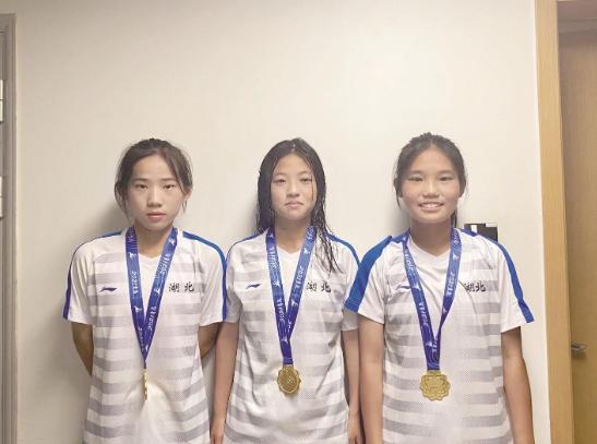第十四届全国学生运动会湖北中学生女足战胜上海队夺冠