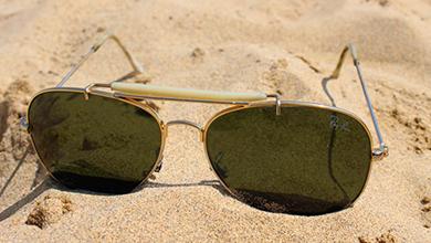 长期暴晒或导致白内障 并非人人都能戴墨镜护眼