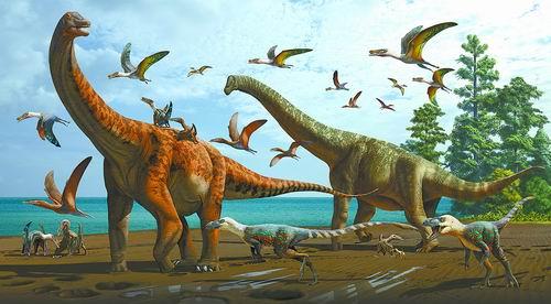 新疆早白垩世哈密翼龙动物群恐龙化石研究领域取得最新成果