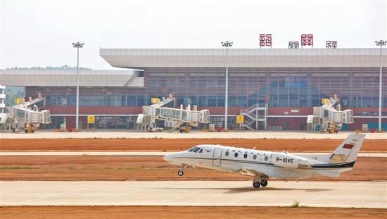 韶关丹霞机场距离通航目标又迈出了重要一步