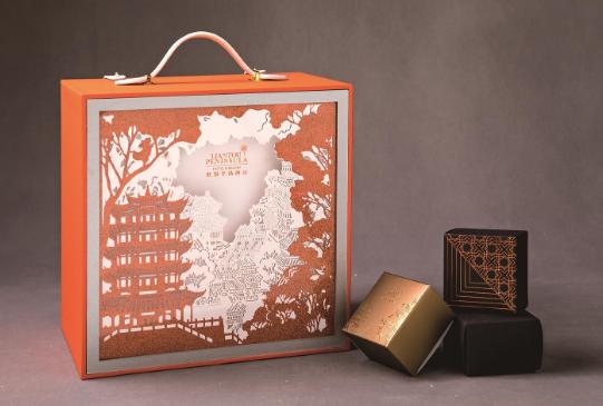 武汉高端酒店出品的中秋月饼价格接地气 口味有创新