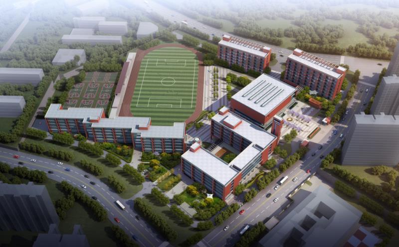 中铁建工承建的济南实验高级中学顺利交付使用!将迎来千名高一新生!