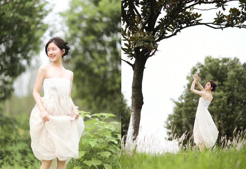 娱乐圈女明星小白裙穿搭盘点 你最喜欢谁的?