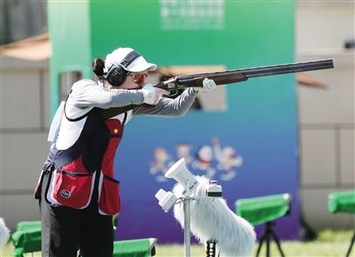 十四运会射击多向女子和男子两项决赛落幕 湖南队均夺冠