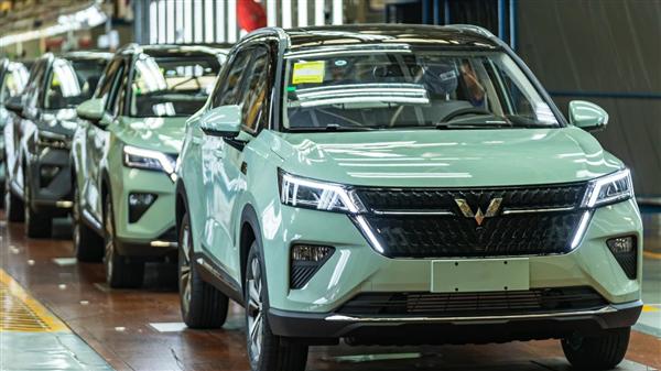 五菱银标战略级SUV星辰共推出5款车型 最大功率149马力