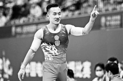 北京名将肖若腾第一次获得全运会个人全能冠军