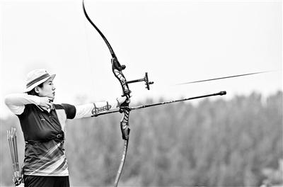 全运会射箭女子反曲弓团体项目北京队战胜上海队夺金