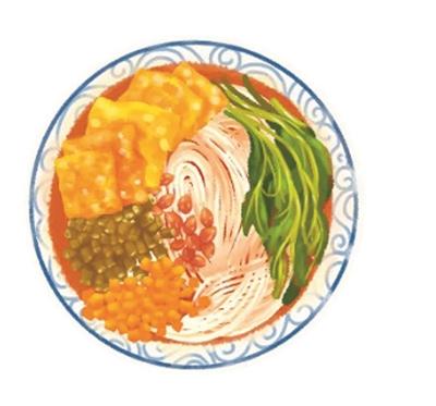 线上速食细分品类中螺蛳粉成为仅次于方便面的第二大速食品