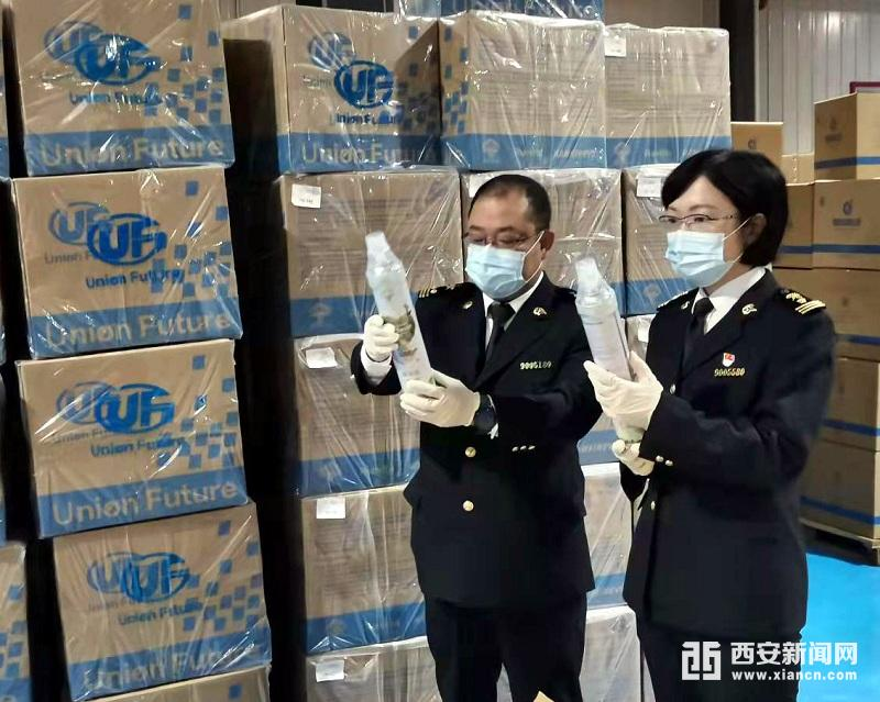 陕西企业自主研发生产的便携式氧气呼吸瓶顺利发往马来西亚