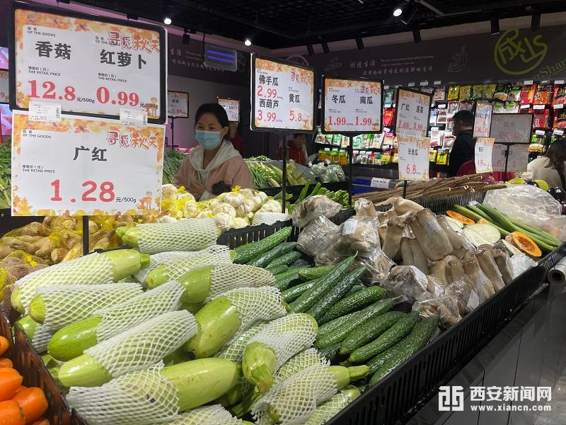 国庆假期陕西民生商品未发生脱销、断档、价格异常波动等现象