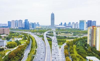 郑州金水路中州大道互通立交将迎来建成后最大规模的一次改造